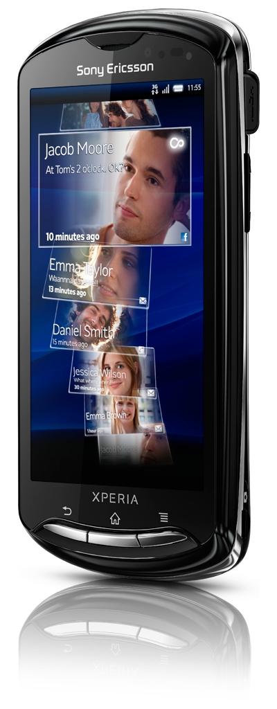 Sony Ericsson Xperia Neo und Pro: Smartphones mit Android 2.3 und 8,1-Megapixel-Kamera - Sony Ericsson Xperia Pro