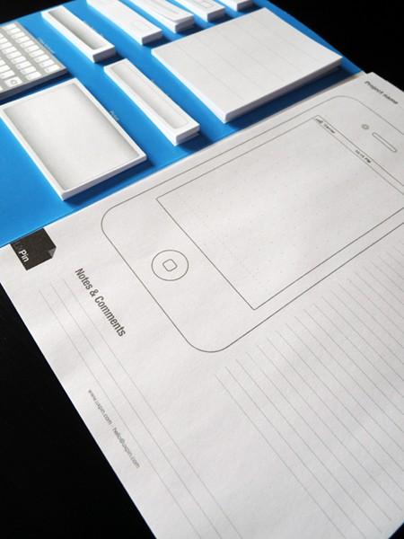 UXPin Mobile: Paper-Prototyping-Kit für iPhone-Apps - UXPin Mobile Kit