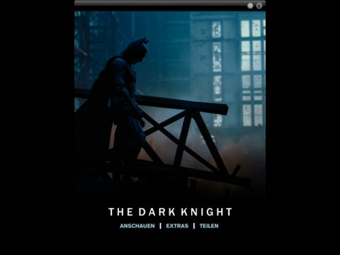 "iOS-App ""The Dark Knight"""