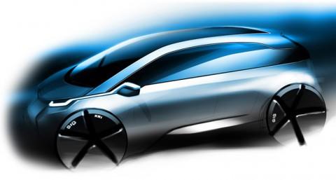 Der BMW i3 ist ein elektrisch angetriebenes Stadtfahrzeug. (Grafik: BMW)