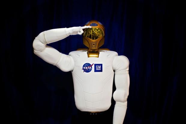 Robonaut 2 meldet sich zum Dienst. (Foto: Nasa)