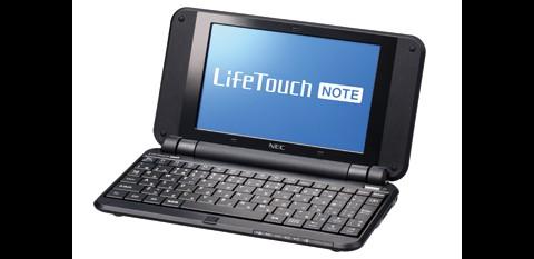 NEC Lifetouch Note - Android-Netbook für Japan (Bild: NEC)