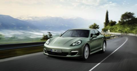 Das Hybridfahzeug Porsche Panamera Hybrid S (Bild: Porsche)