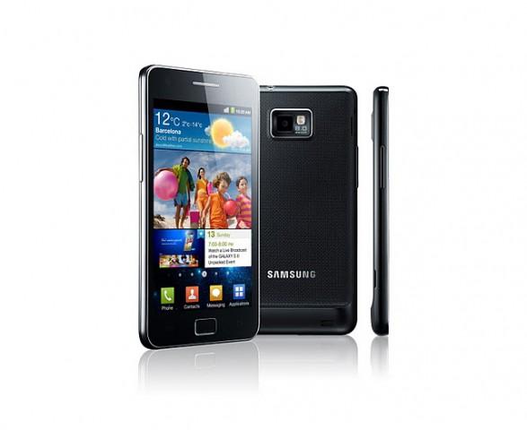 Samsung Galaxy S2 - schneller und schlanker als das Galaxy S (Bild: Samsung)