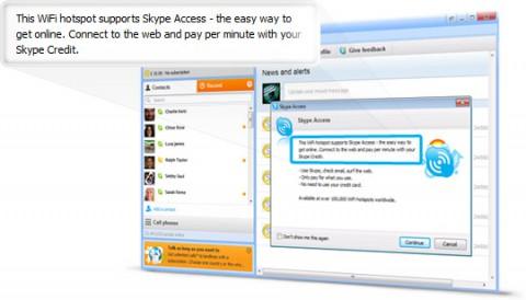 Skype Access - über aktuelle Skype-Clients nutzbar (Bild: Skype)