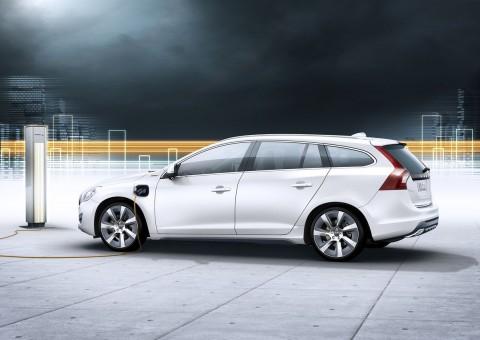 Der Volvo V60 als Plugin-Hybrid (Bild: Volvo)