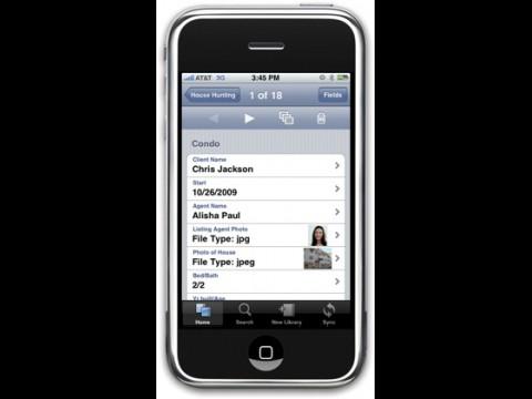 Bento auf dem iPhone