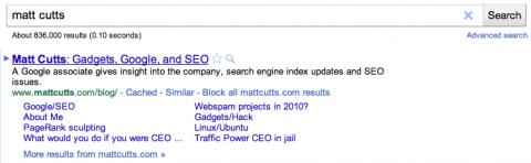 Google - Blockierfunktion