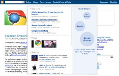 Google Blogger - Hubs