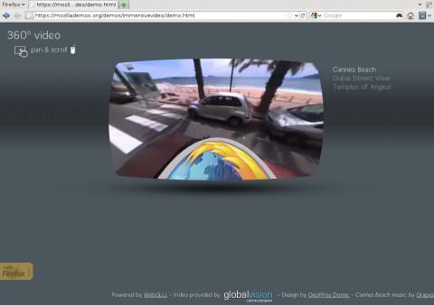 Eine 360°-Videotour durch Cannes, ermöglicht durch WebGL
