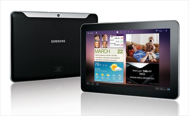 Samsung Galaxy Tab 10.1 - Bilder des 8.9-Geräts hat Samsung noch nicht veröffentlicht.