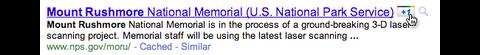 Suchergebnis mit Google +1