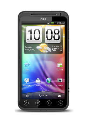 HTC Evo 3D: Android-Smartphone mit 3D-Display - HTC Evo 3D