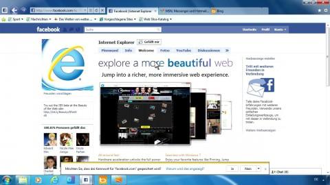 Internet Explorer 9 von Microsoft