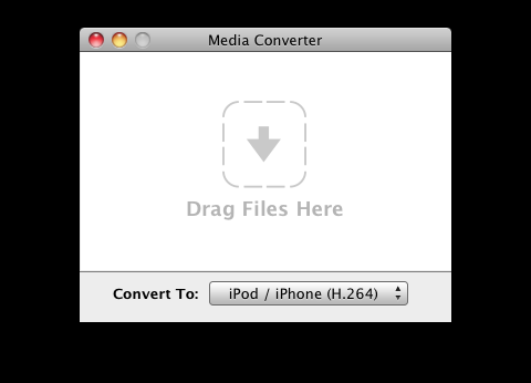 Interface von Media Converter