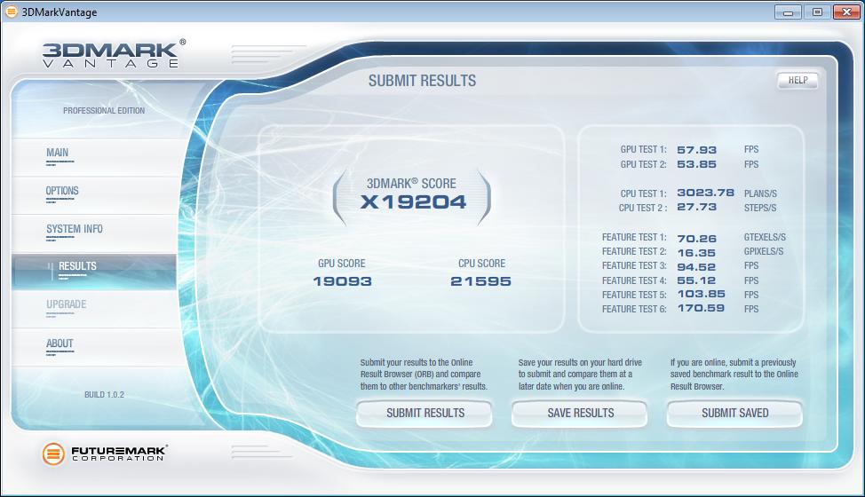 """Geforce GTX 590 im Test: Nvidias Doppel-GPU ist leiser, aber nicht immer schneller - Einzelergebnisse von 3DMark Vantage """"Extreme"""""""