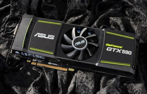 Geforce GTX 590 von Asus