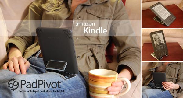 Kickstarter: Tablet-Halterung stößt auf großes Interesse - Padpivot mit Kindle