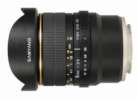 Samyang 8mm F3.5 CS VG10