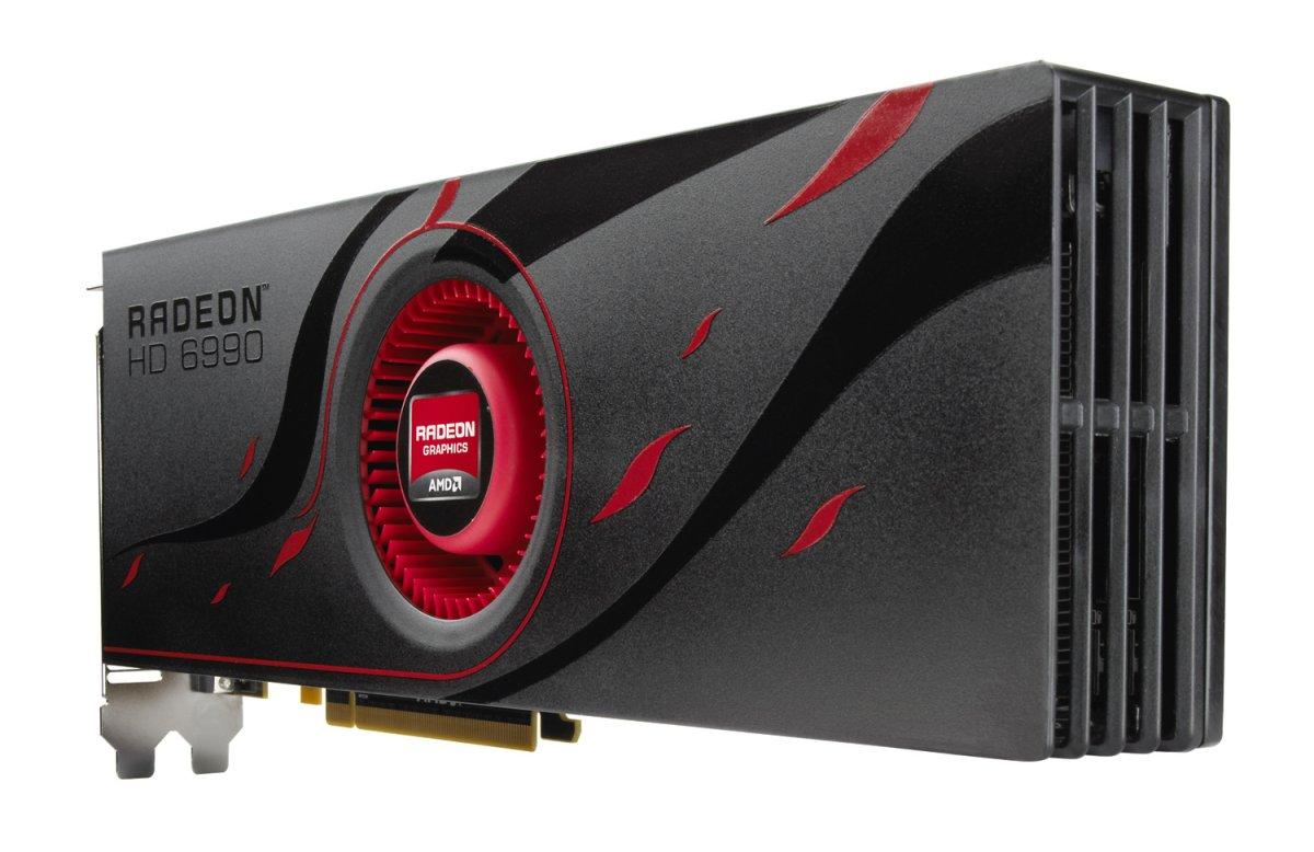 AMD Radeon HD 6990 im Test: Grafikmonster mit 500 Watt für 600 Euro (Update) - Die Radeon HD 6990