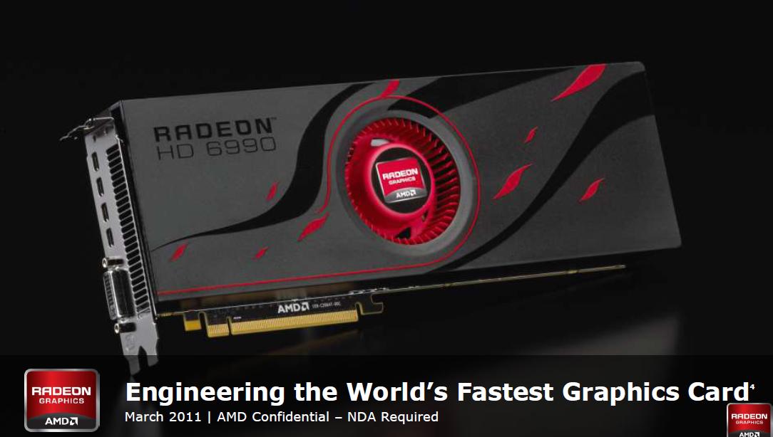 AMD Radeon HD 6990 im Test: Grafikmonster mit 500 Watt für 600 Euro (Update) - Klare Ansage: Die Schnellste soll es sein.
