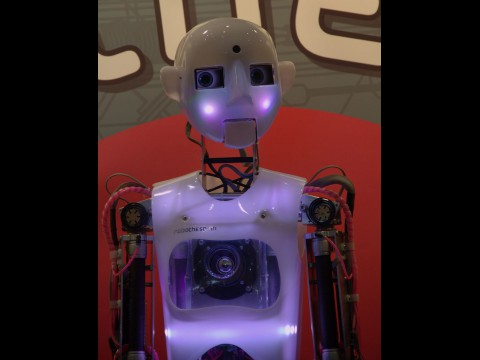 Der Schauspielroboter Robothespian (Foto: wp)