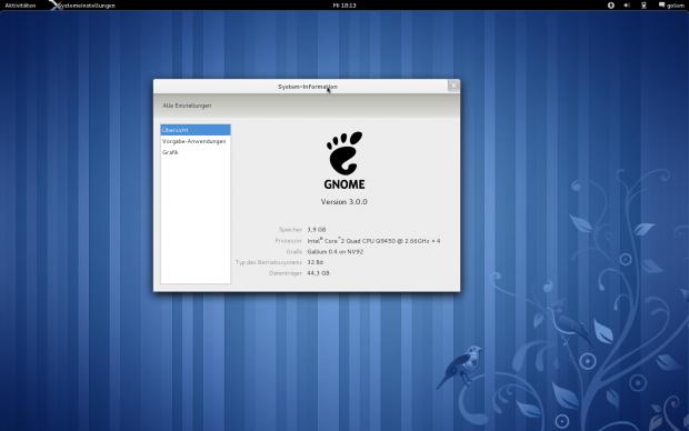 Der neue Gnome-Desktop
