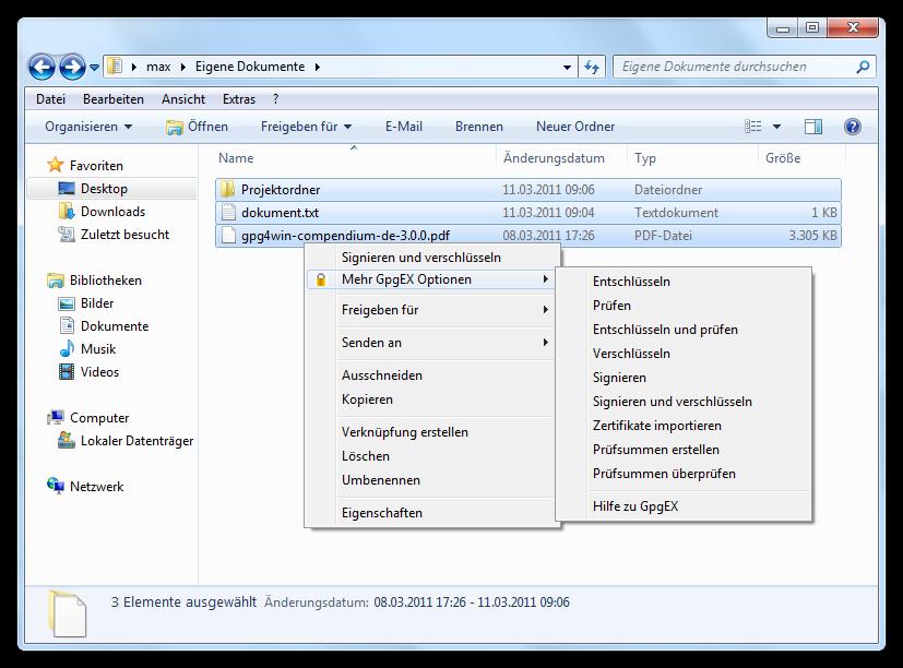 Verschlüsselung: Gpg4win 2.1.0 vereinfacht Zertifikatsauswahl - Gpg4win 2.1.0