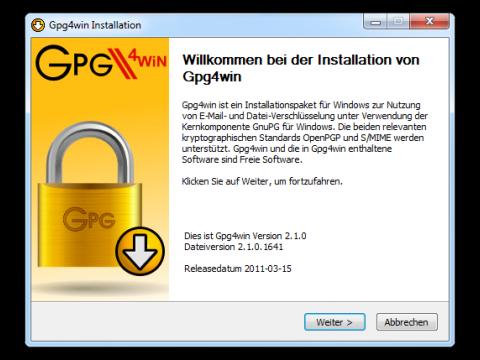 Gpg4win 2.1.0