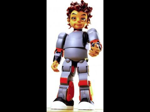 Hansin Robokind: Es gibt ihn als Roboterjungen Zeno... (Foto: Hanson Robotics)