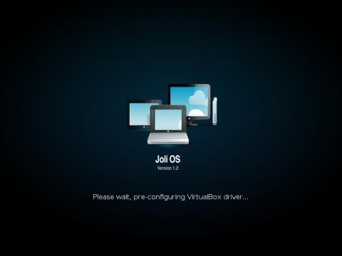 Der neuen Splashscreen von Joli OS 1.2
