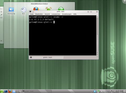 Der Linux-Kernel in Version 2.37.1