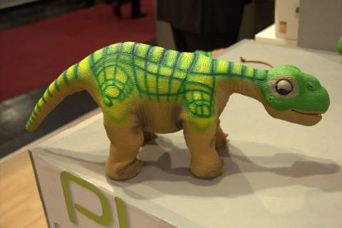 Der Dinosaurier-Roboter Pleo RB (Foto: wp)