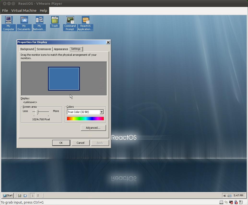 Windows-Nachbau: ReactOS 0.3.13 verbessert Grafikunterstützung - ReactOS 0.3.13