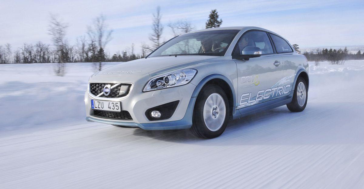 Volvo C30 Electric: Volvo testet Elektroauto in Kiruna -