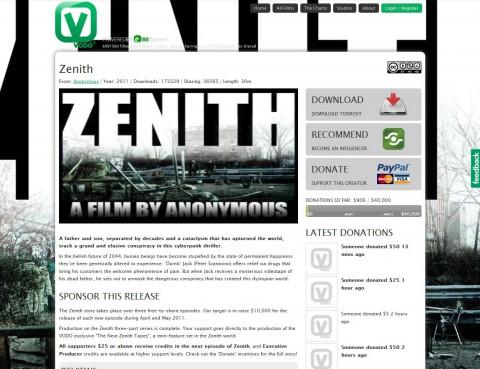 Zenith - Cyberpunk-Thriller in drei Teilen bei Vodo