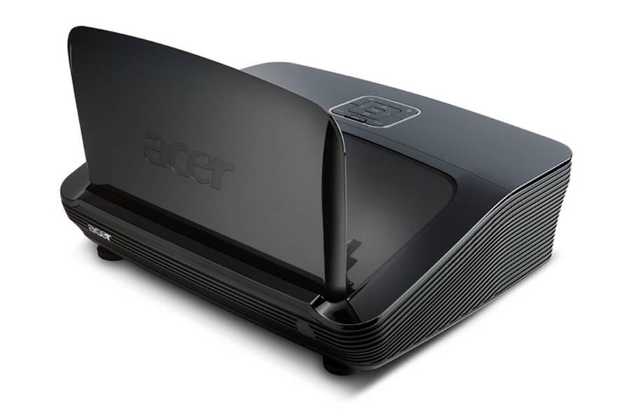 Acer-Projektor: Bei 13 Zentimeter Abstand ein zwei Meter großes Bild - Acer U5200 (Foto: Hersteller)