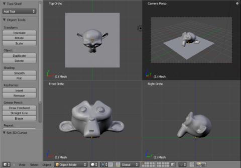 Flexible GUI in Blender 2.5