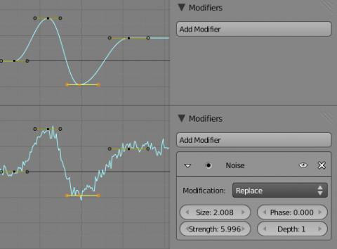 Animation-Editor in Blender 2.5