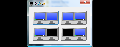 Dual Monitor Tools: Dismon