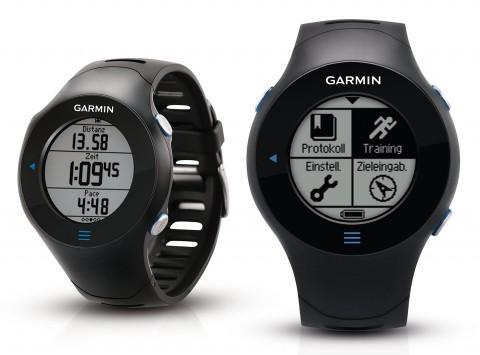 Garmin Forerunner 610: GPS-Sportuhr mit Touchscreen