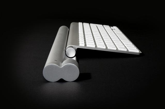 Mobee: Induktionsladegerät für Apples Magic Trackpad und Tastatur - Magic Bar