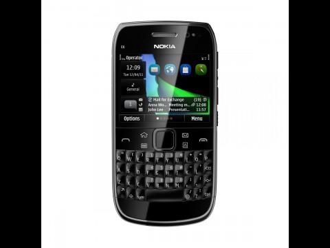 Nokia E6 mit Symbian Anna