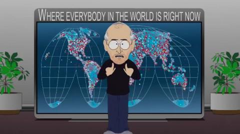 Steve Jobs hat alles unter Kontrolle. (Bild: Southpark.de)