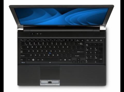 Chiclet-Tastatur des Tecra R850