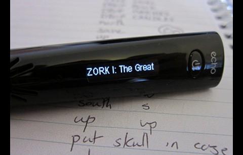 Zork I auf dem Livescribe-Stift
