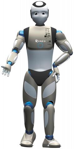 Naos großer Bruder: der humanoide Roboter Romeo (Bild: Aldebaran)
