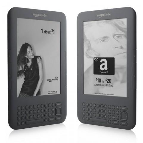 Kindle Special Offers: E-Book-Reader mit Werbung und Einkaufsgutscheinen (Bild: Amazon)