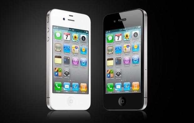 iPhone 4 in Schwarz und Weiß