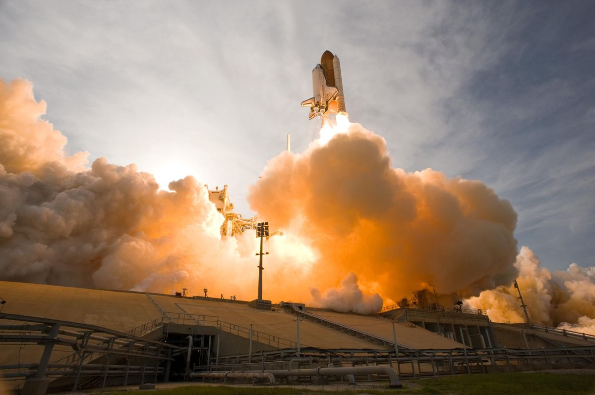 STS-135: Tschüss, Spaceshuttle! -